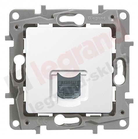 Legrand Niloe Socket 1XRJ45 STP White 664775