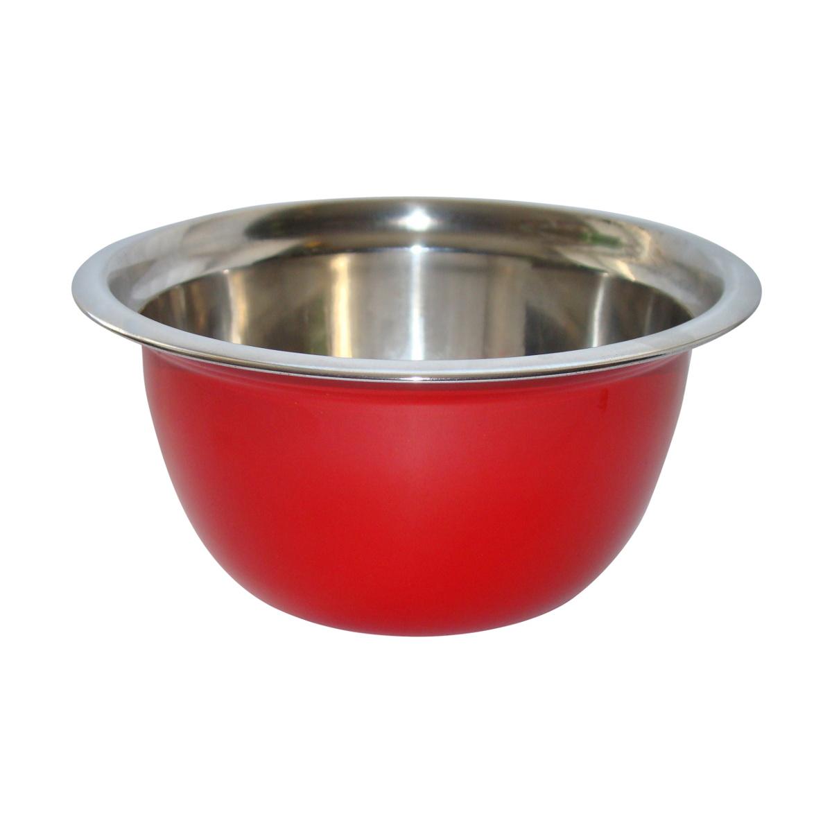 Stalman Steel Bowl Nemecká farba 26cm červená