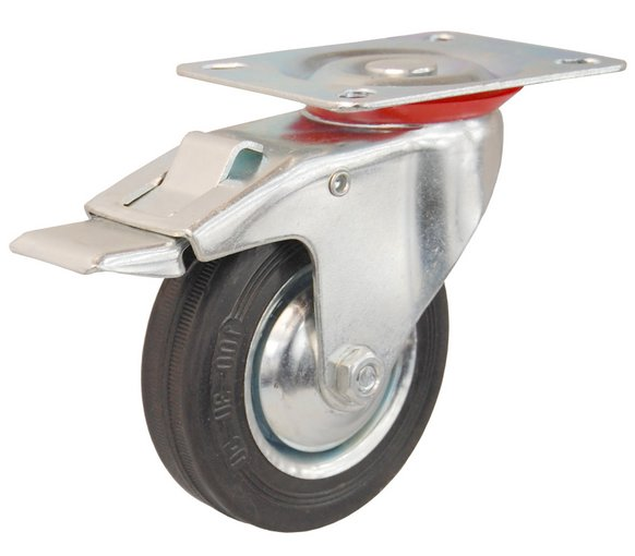 Kruh Rotary Brzda 200mm, kolesový trolley!