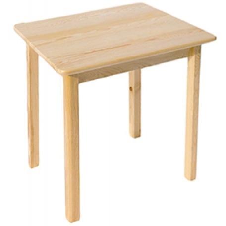 TABUĽKA 75x75 drevené borovica KUCHYŇA, JEDÁLEŇ, BAR
