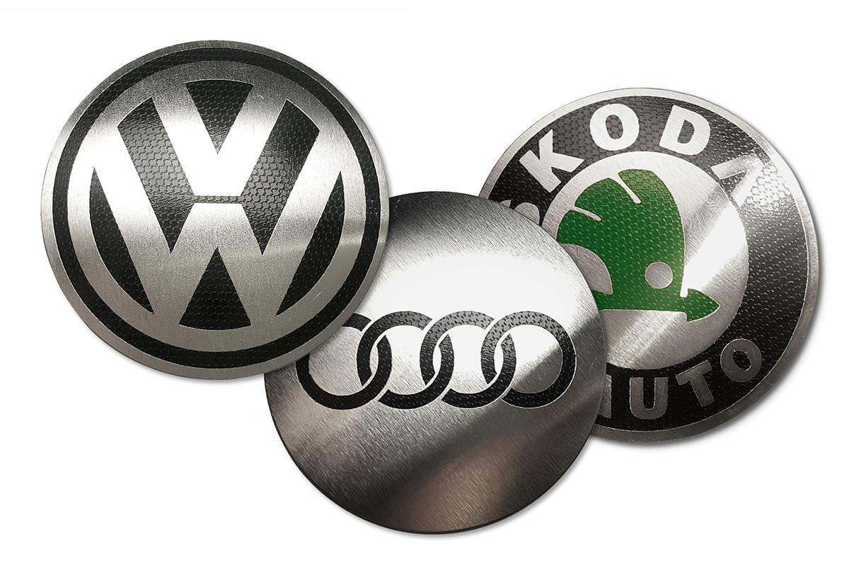 ЭМБЛЕМЫ КОТЛА VW AUDI SKODA ПЛАКАТЫ ДЛЯ СТИКПОВ