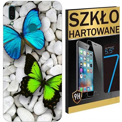 200 wz. Etui+szkło do Huawei Y9 2019 Obudowa Case