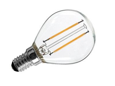 Žiarovka E14 LED 2W Retro Vintage Studenej