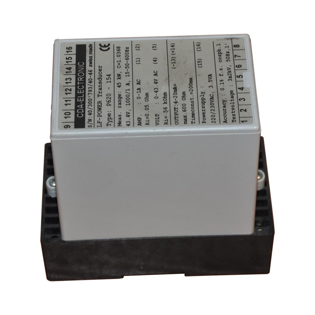 Výkon Prevodník LF Prevodník výkonu P620-154