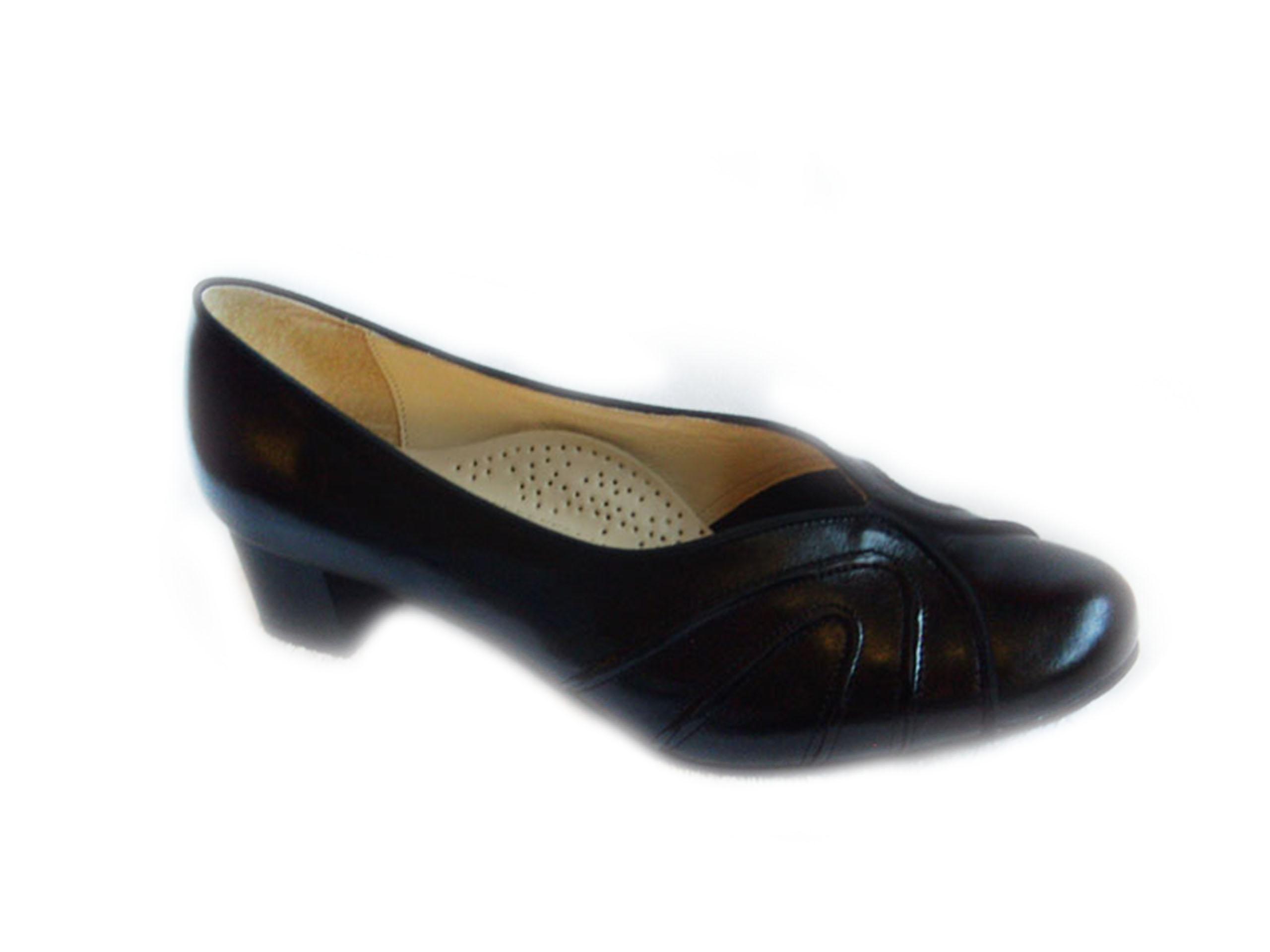 SKÓRZANE sandały czarne TĘGOŚĆ H HALUKSY 41 Ceny i opinie