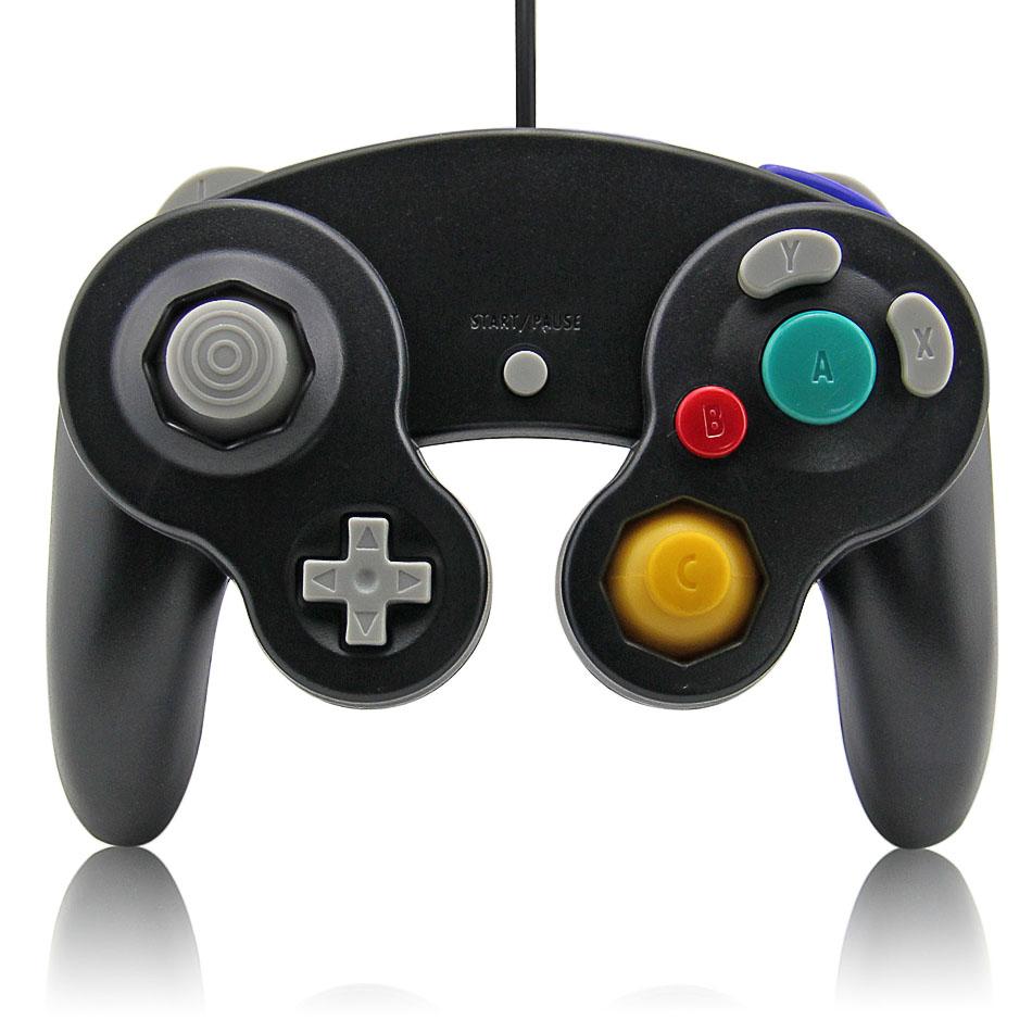 Item GameCube Pad black GameCube games on the Wii