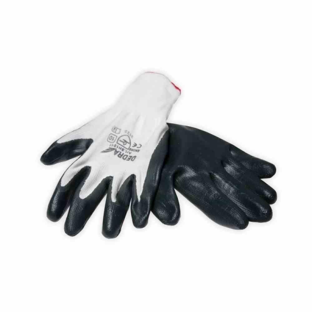 Ochranné rukavice pokryté pracovnou nitrilom DIDRA