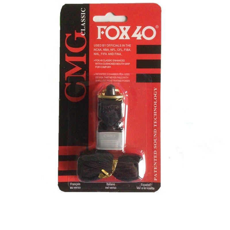 Купить СВИСТОК СУДЬИ FOX40 Классик CMG ЧЕРНЫЙ Дейзи ДБ на Eurozakup - цены и фото - доставка из Польши и стран Европы в Украину.