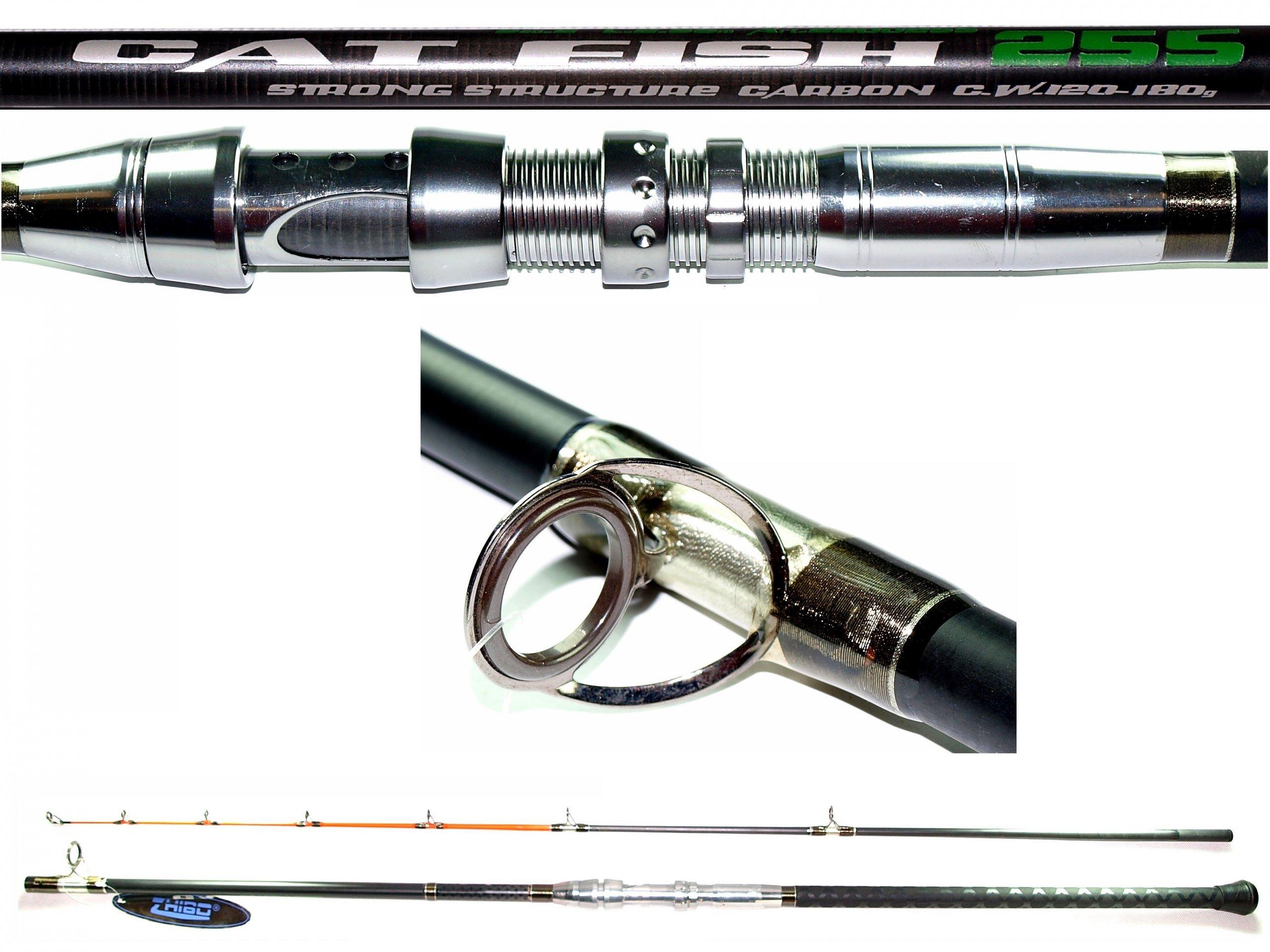 Súhrnná tyč, COD 120-180g, Carbon 2,55m