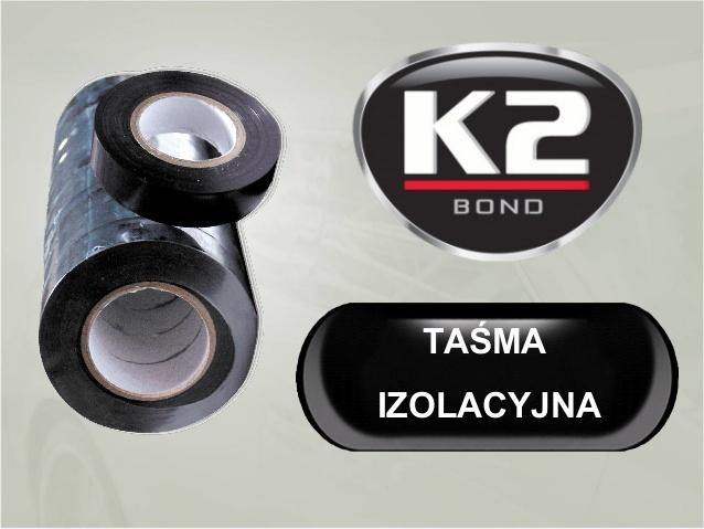 K2 изоляционная Лента 19mmx 20м черная