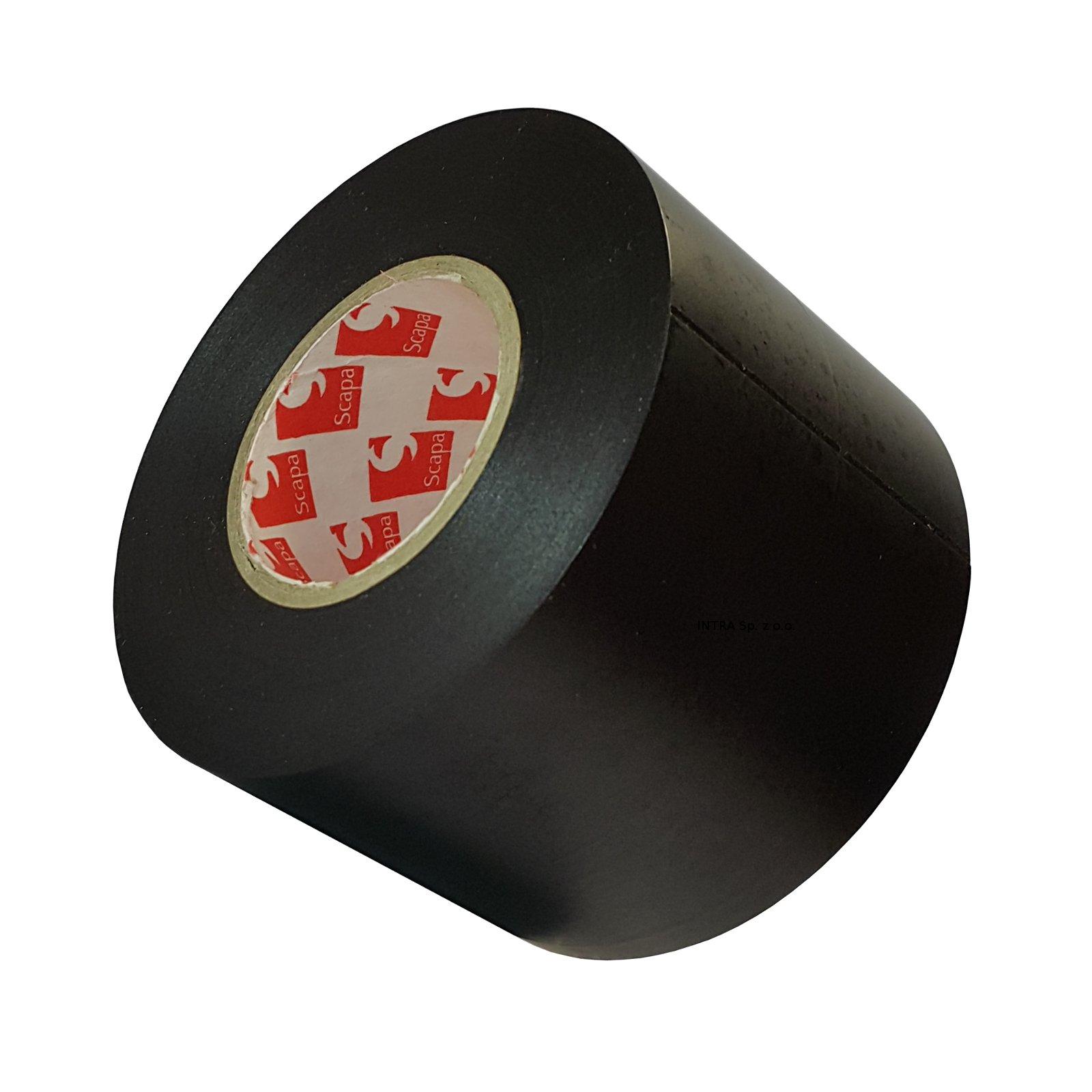 Item Tape for floors ballet PVC 50mm/25m black