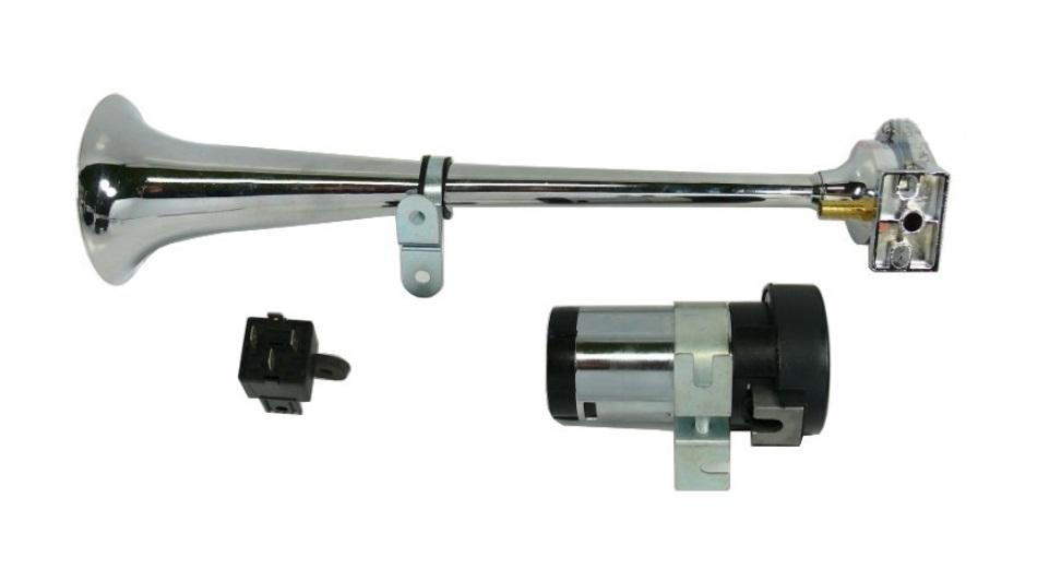 фанфары + компрессор звуковой сигнал сигнал металлический