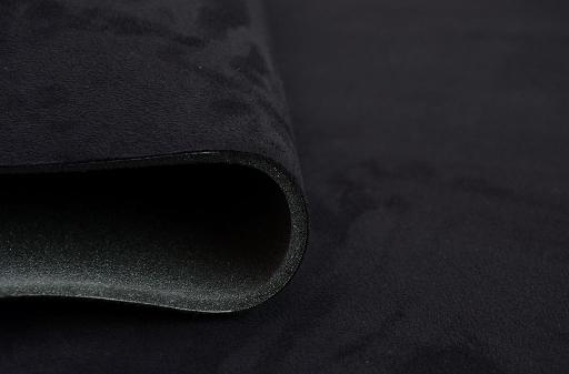 ткань автомобильная нубук велюр потолок черная