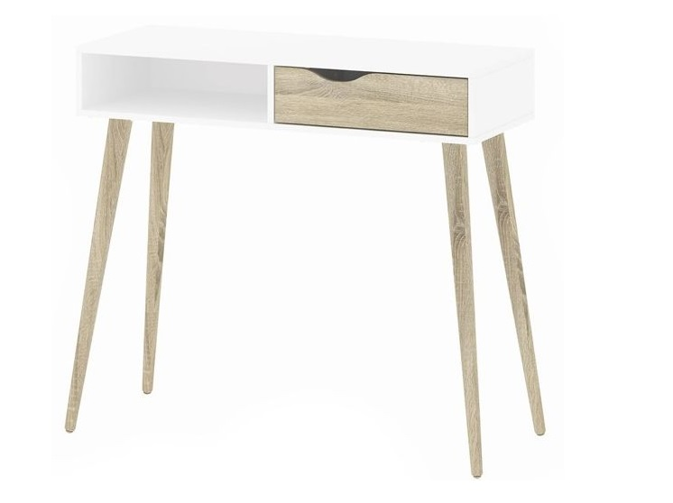 Konzolový stôl, konzola, štýl Retro Tvilum Delta