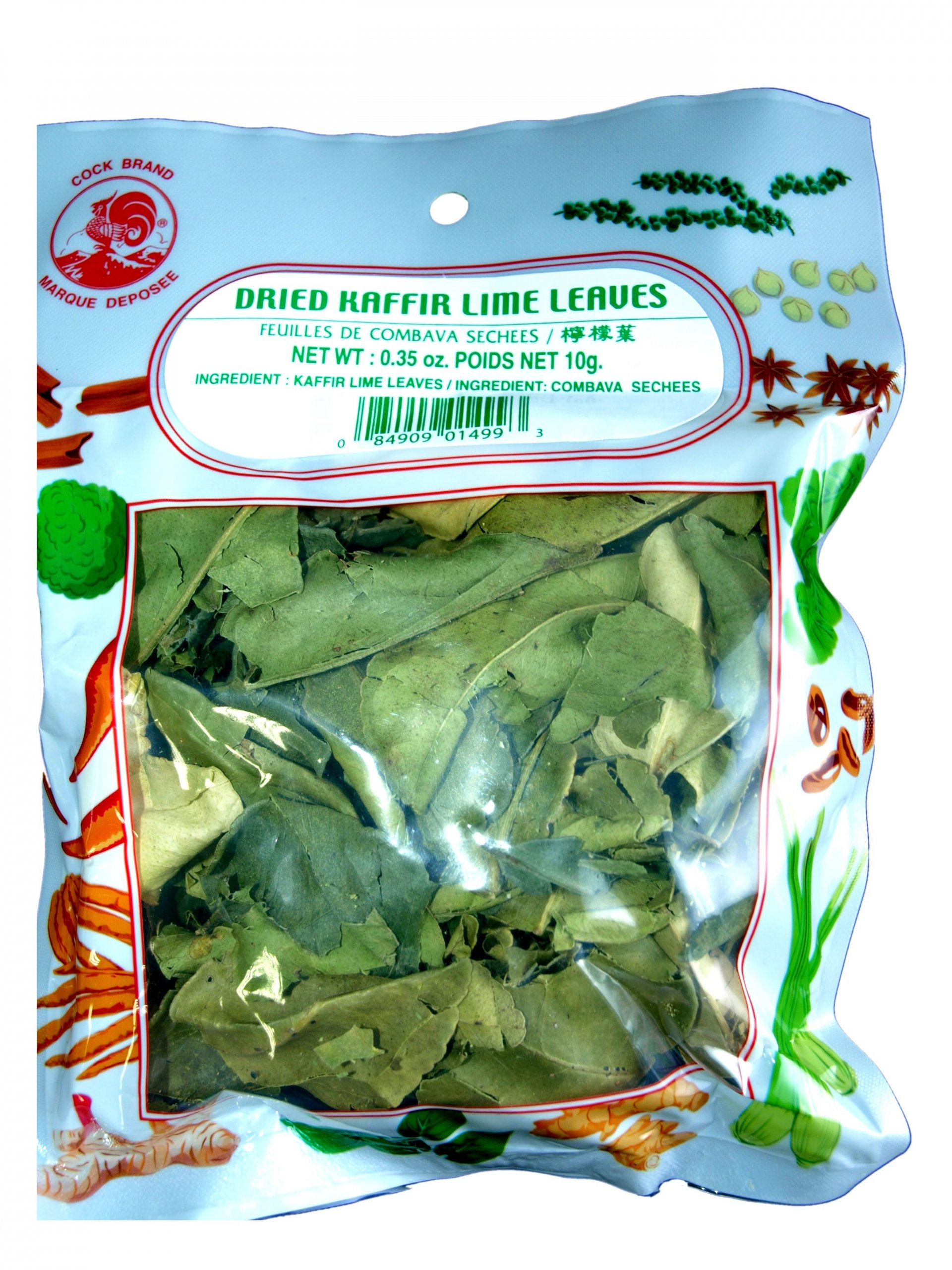 Item KAFFIR LIME leaves 10g