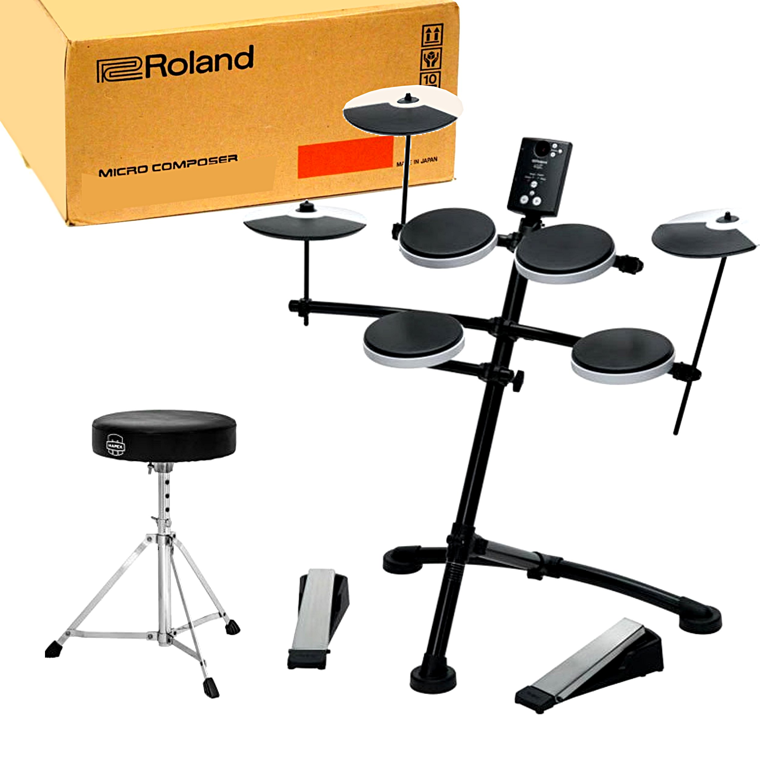 Item Electronic percussion Roland TD-1K +Seat KRK