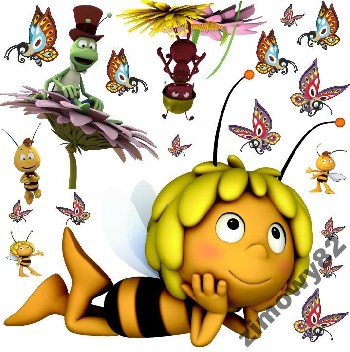 Днем ангела, картинки пчелка майя умывается