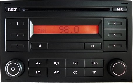 Picture of RADIO RCD200 MP3 SEAT ALHAMBRA AROSA