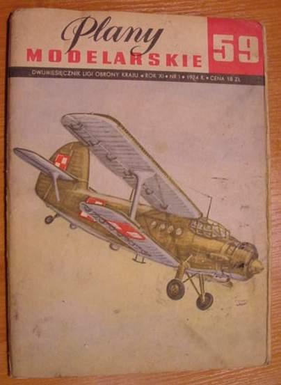 PM nr 59 Samolot wielozadaniowy AN-2