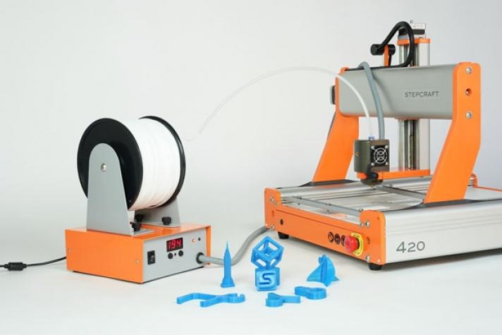 PLOTER, 3D Tlačiareň CNC Stuffraft 2/840