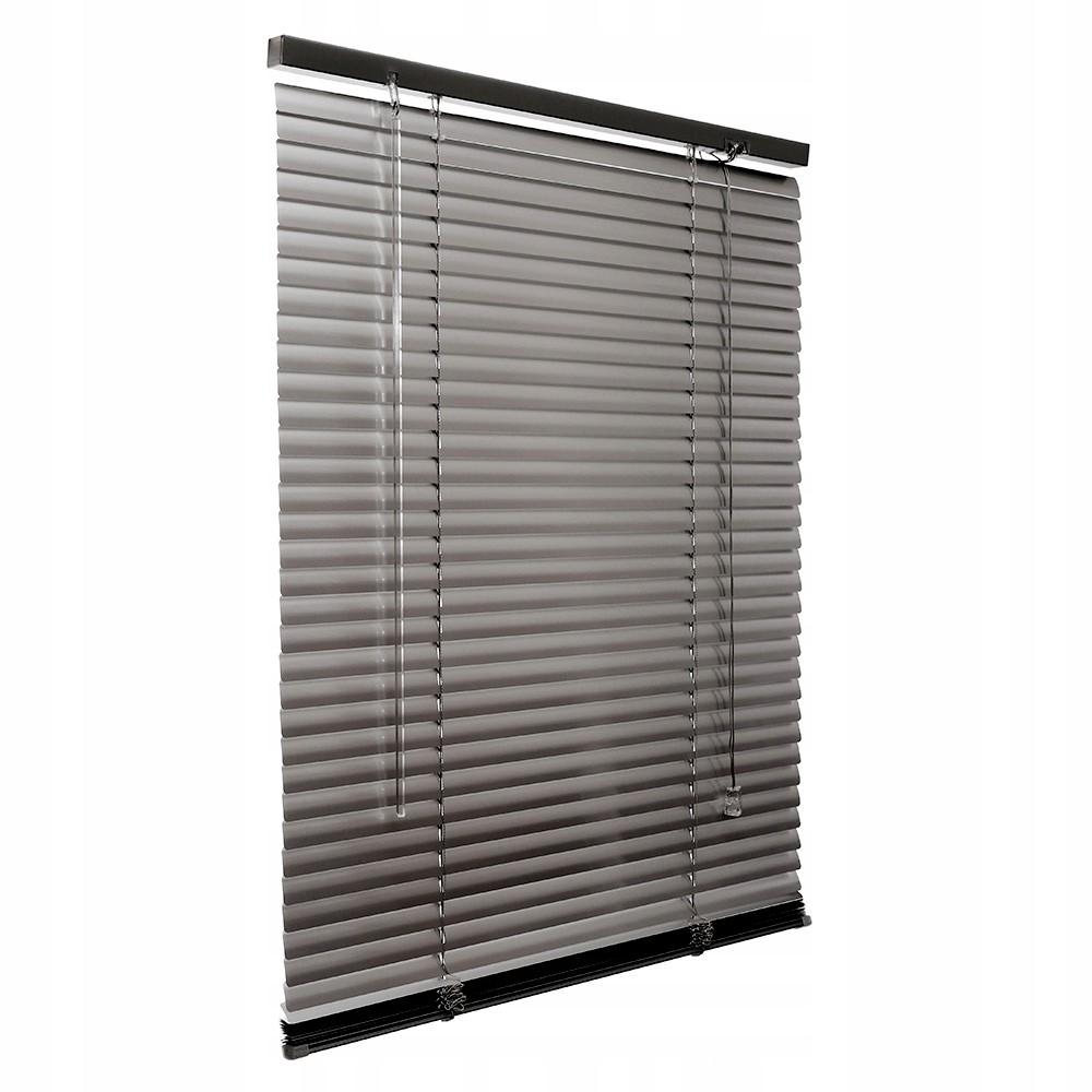Żaluzja Żaluzje na Okno Aluminiowe 65x130cm - 25mm