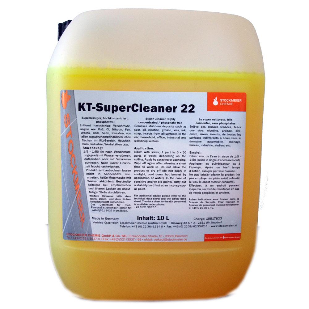 STOCKMEIER KT22 10L płyn do prania tapicerki MOCNY