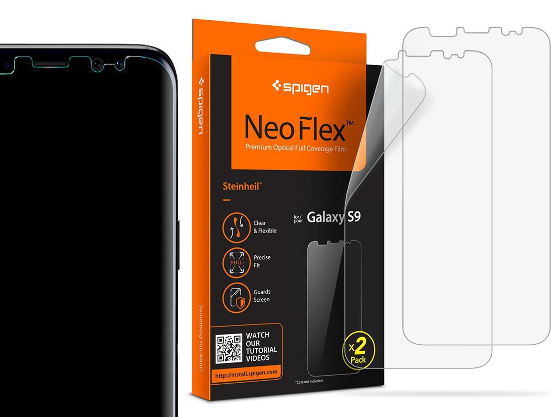 Spigen Neo Flex Folia Ochronna Do Etui - Galaxy S9