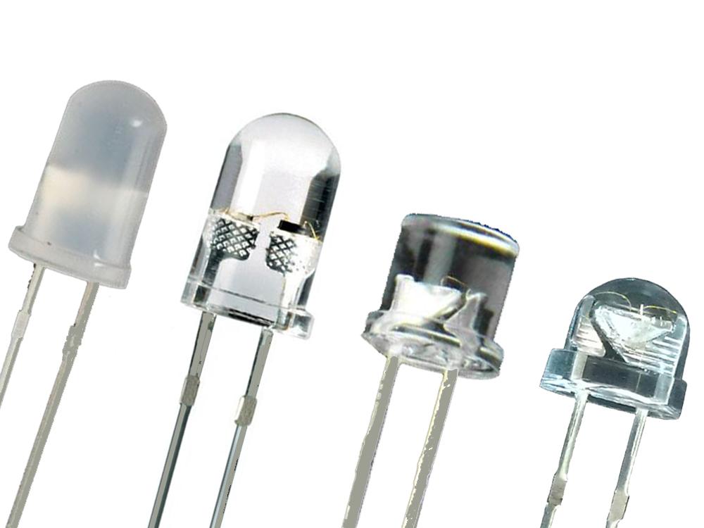 Светодиоды WHITE И COLOR 5mm 100 PIECES LED
