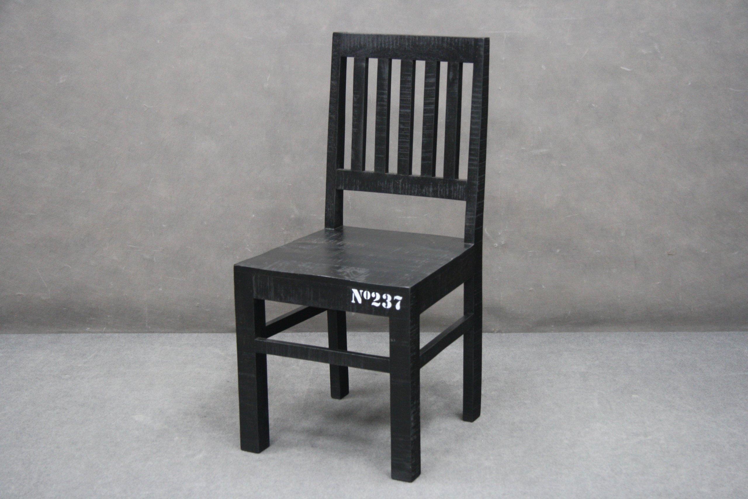 Stoličky Drevené Stoličky Čierna Sada ŠTÁTY