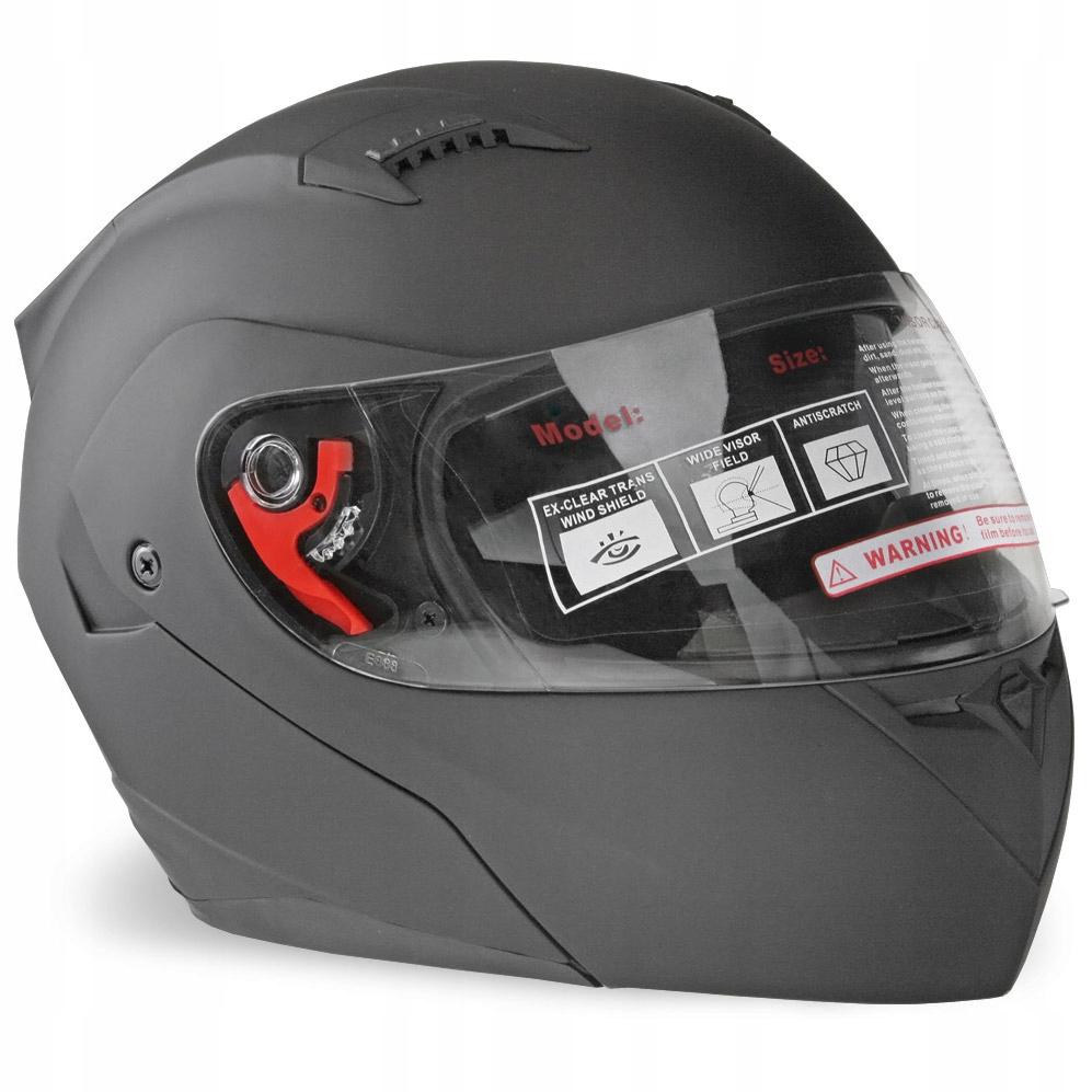 Мотоциклетный шлем с поднятой ручкой M BLEND MAT