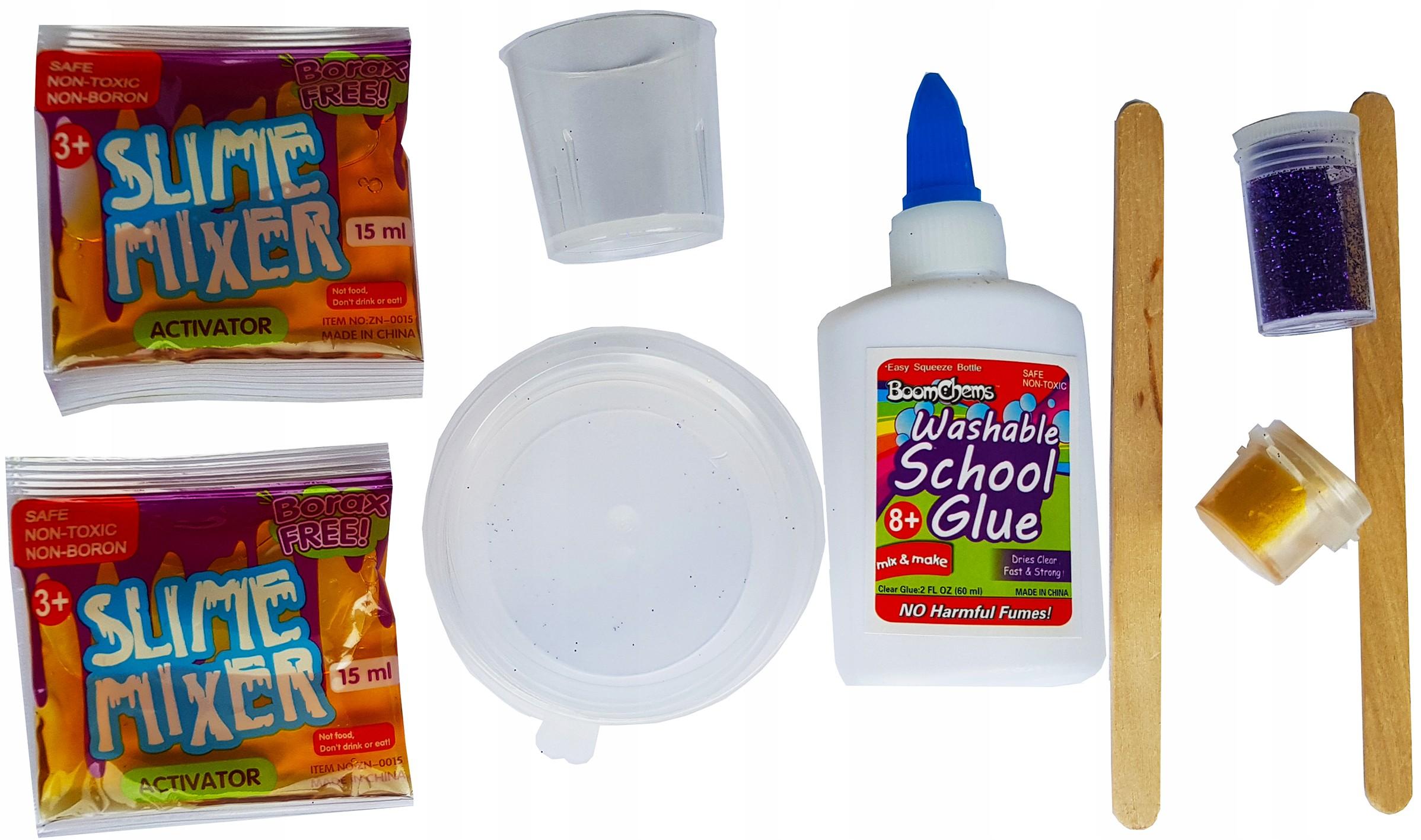 Zestaw Glut Slime Klej Do Glutow Zrob Gluta Glutek 7264769844 Allegro Pl