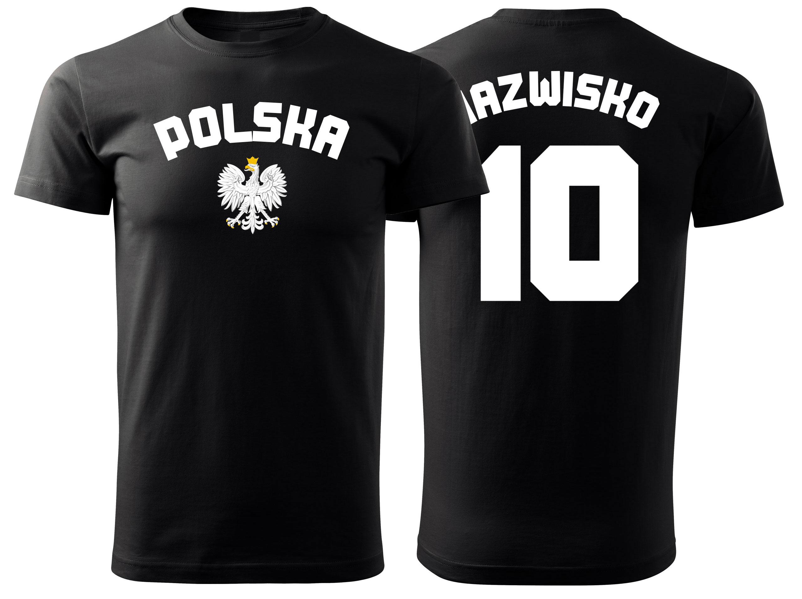 T-shirt Vašej tlačovej košele Tlač Poľsko Shirt S!
