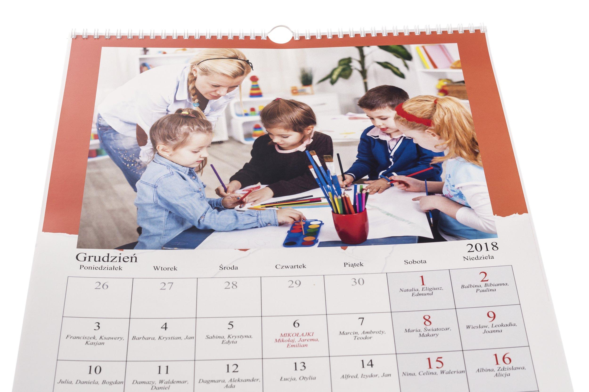 Календарь А4 13str с фотографиями и датами 24 ЧАСА