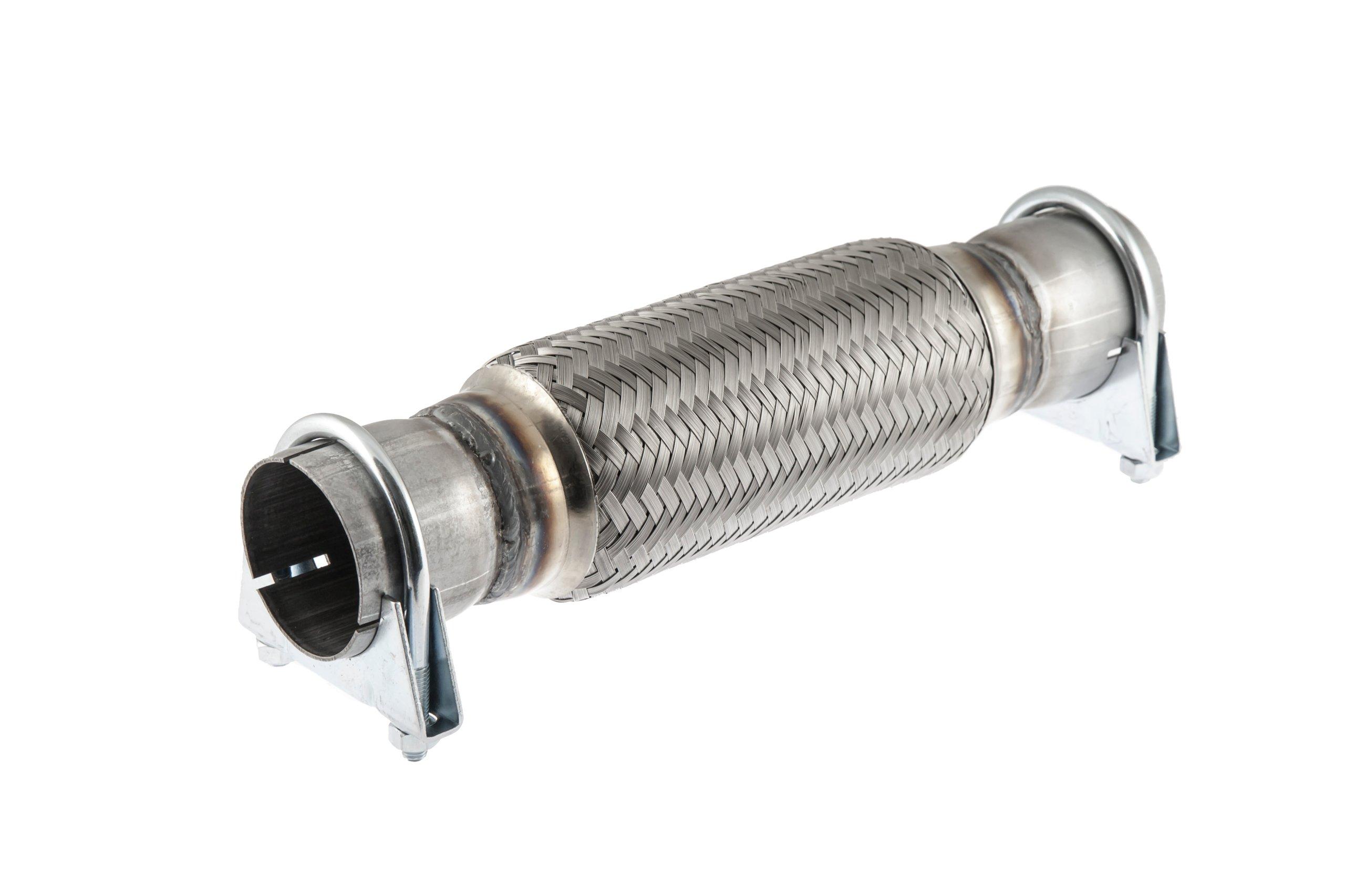 Соединитель гибкий выдохе глушитель вибрации 55x300
