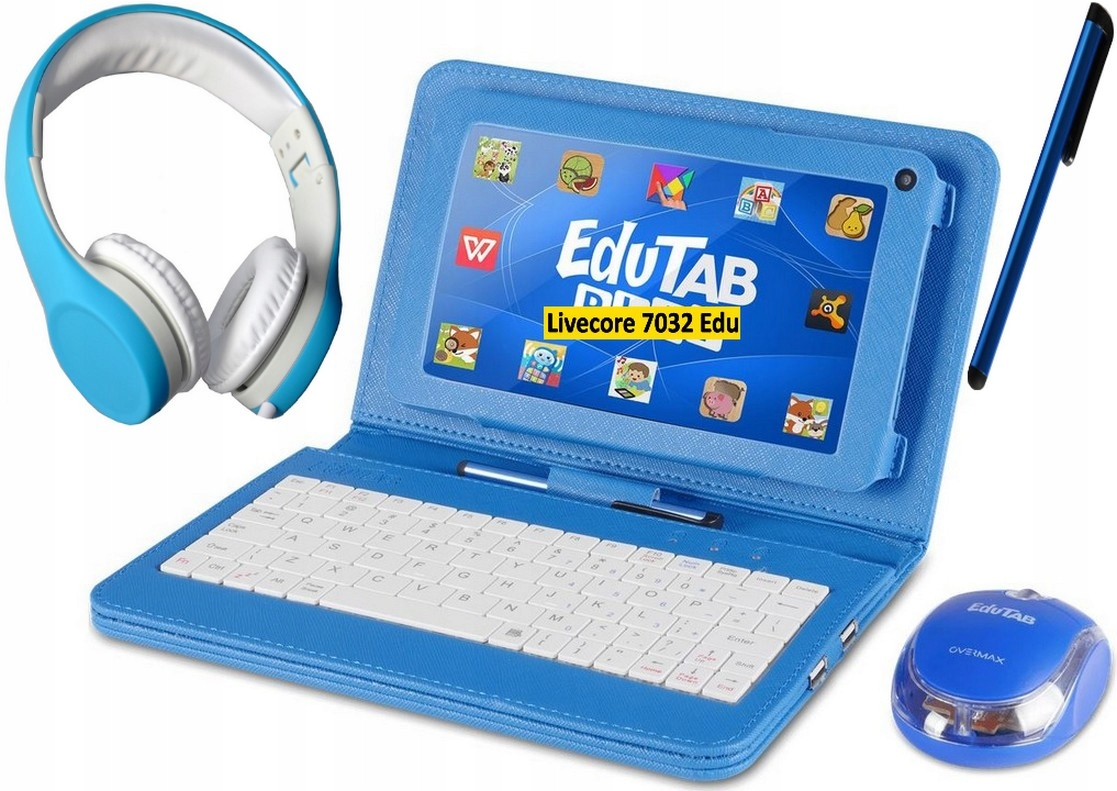 Vzdelávací tablet Overmax EduTab + zábava + zadarmo