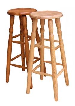 TABORET STOŁEK DREWNIANY 80cm mocny HOKER krzesło