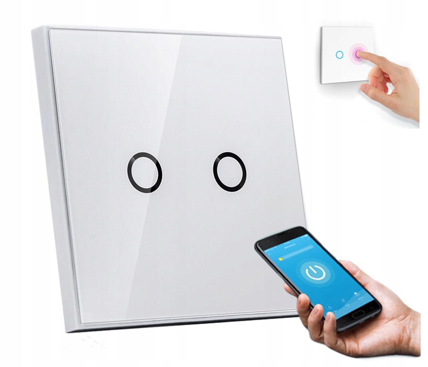Włącznik światła NEO WIFI Alexa TUYA iOS ANDROID