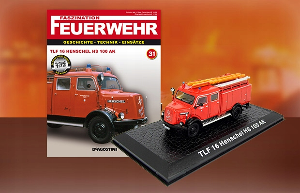 TLF 16 Henschel HS 100 AK nr31 1:72