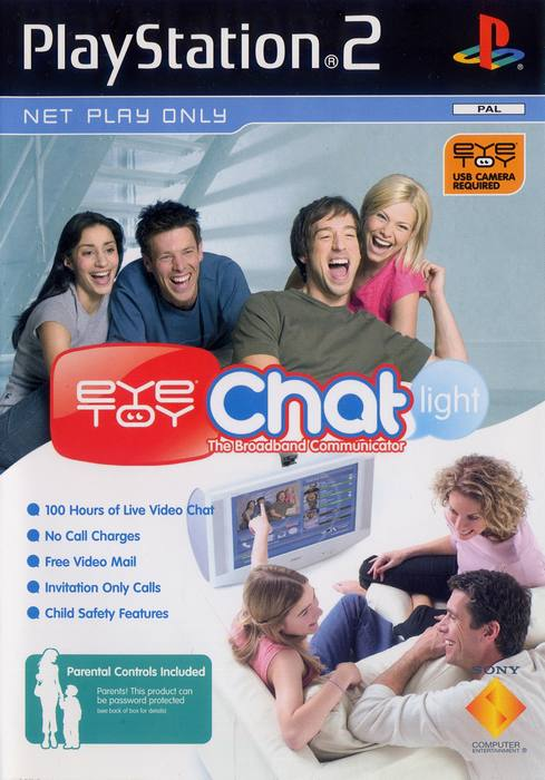Hra / Chat PS2 Eyetoy Chat Online