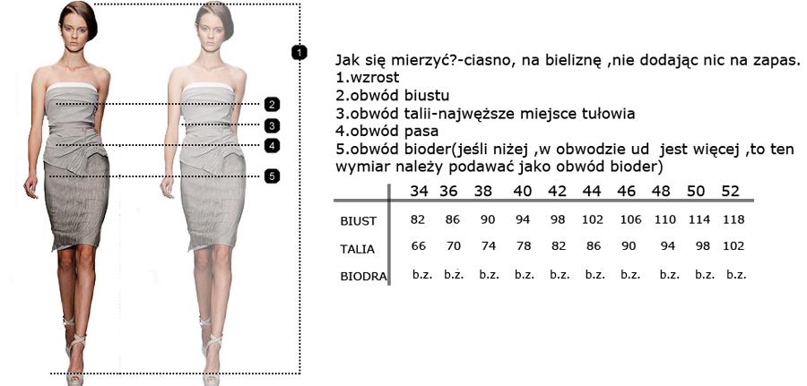 Koralowa sukienka z koła dekolt V 48 Camill 016