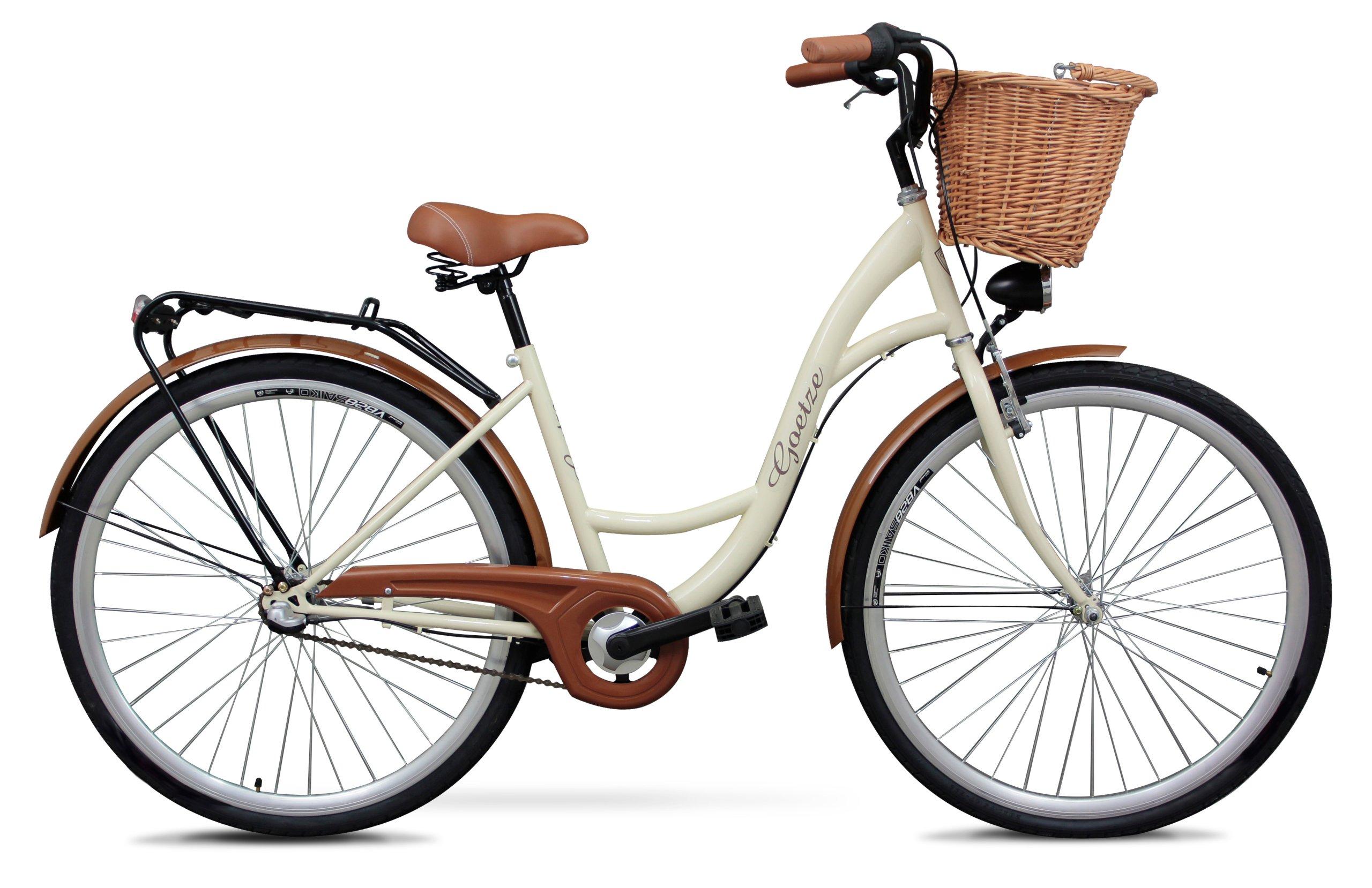 Городской велосипед goetze 28 3 Instagram корзина?