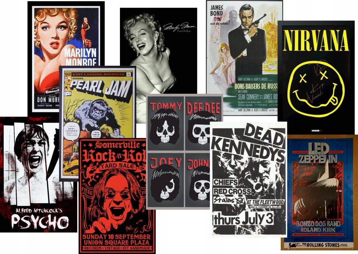 Plagát staré dobové plagáty - 150x100 mnohých prevedeniach