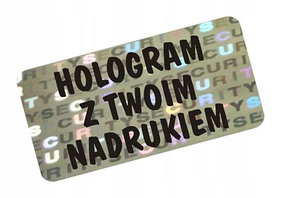 NH-210 - 20x10mm Hologram PLOB BEZPEČNOSTI