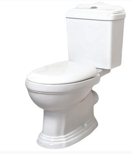 KOMPAKTNÝ WC V STOJI S PALUBE RETRO
