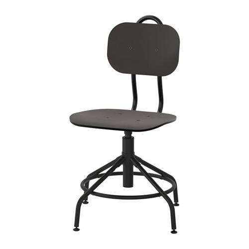 KULLABERG IKEA otočná Stolička, čierna wys24h