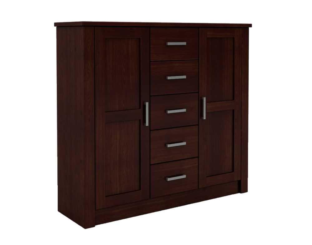 DSI-nábytok toaletný stolík drevený bieliźniarka FADO 2D/5S