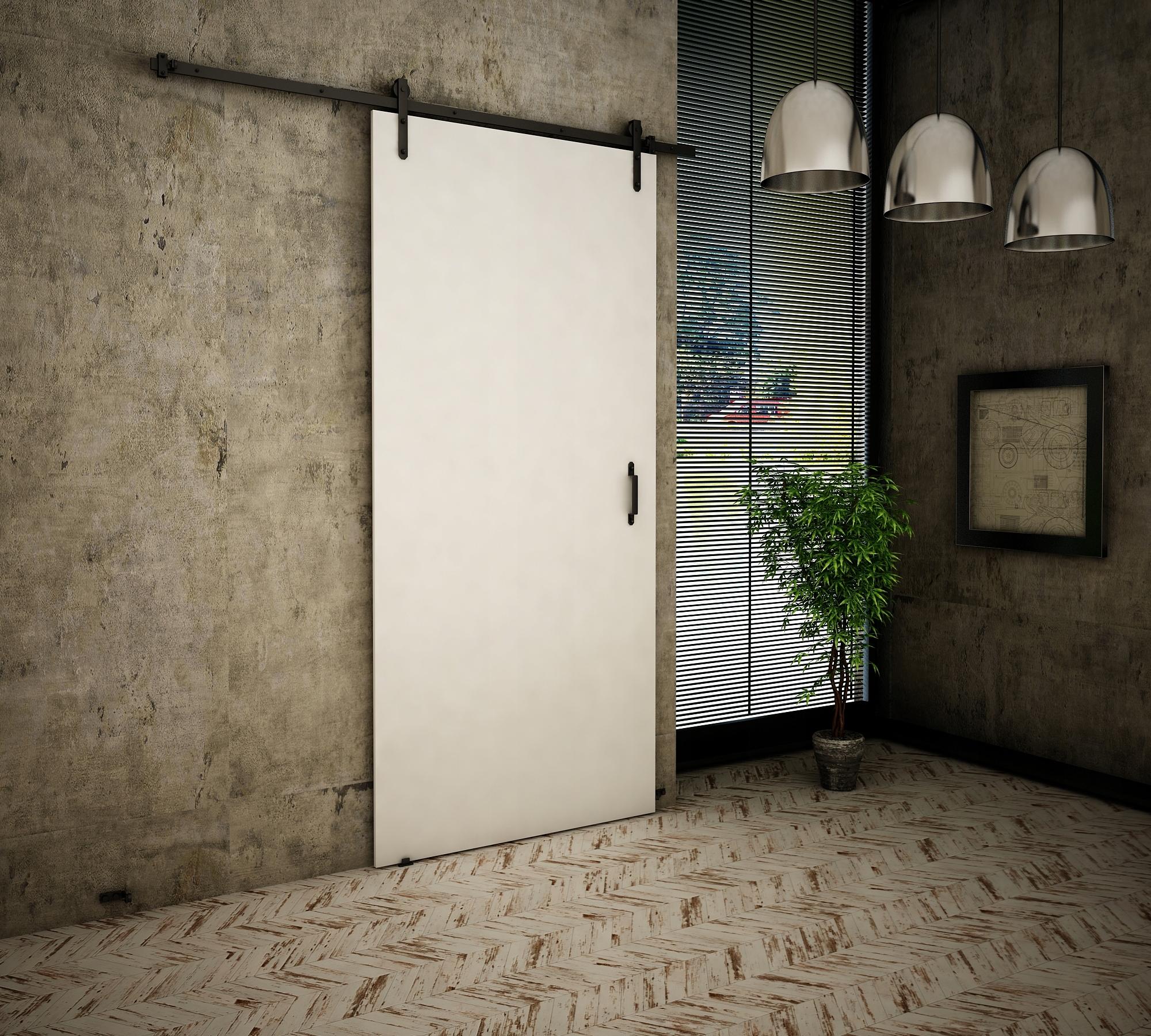 Dvere v starom štýle 80 Biele Retro
