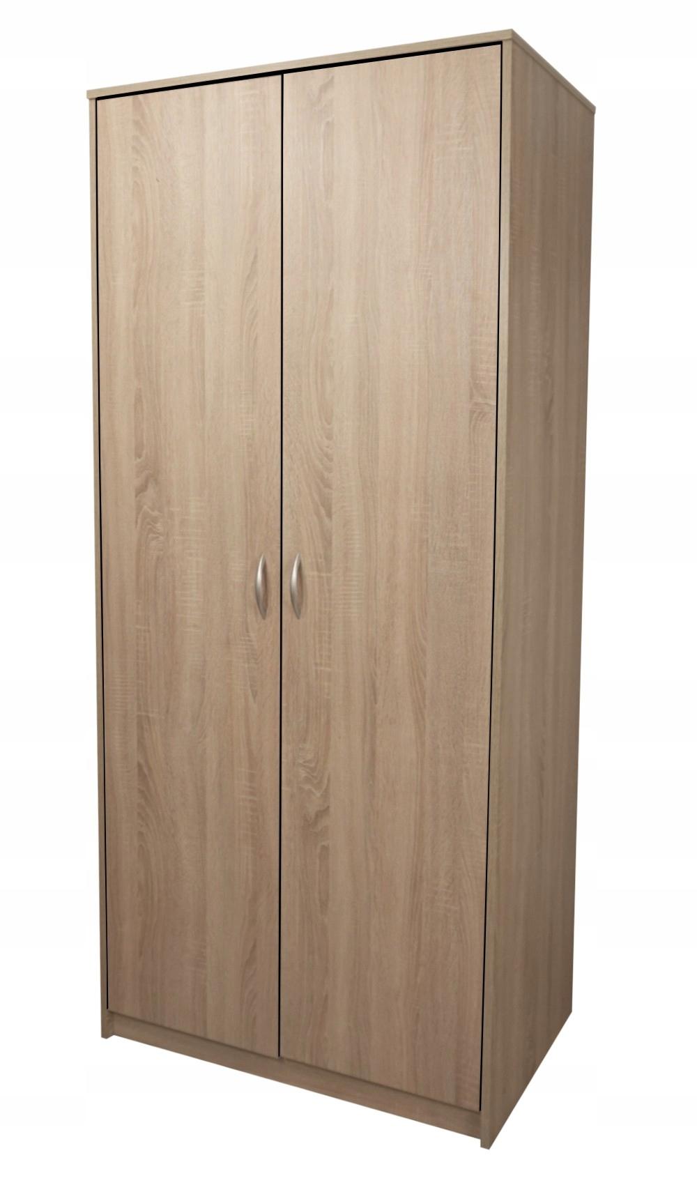 Šatníková skriňa Record II Sonoma Retro Design Salon Garderob