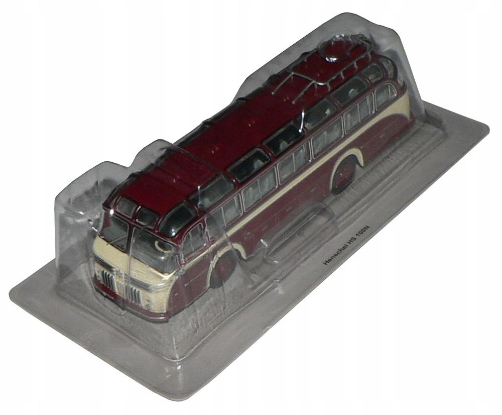 Kult autobusy PRL 14 - Henschel HS 100 N