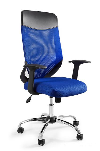 MOBI kancelárska stolička PLUS modrý-952-7